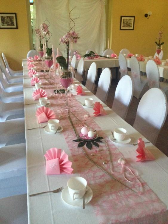 Deko Hochzeit Rosa Roomoutfit Dekoration